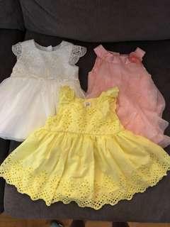 Baby girl dresses 3-6