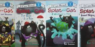 BN I Can Read! Level 1 Set C: Splat the Cat (4 books for $14)