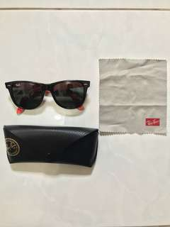 Kacamata AUTHENTIC Ray Ban Rayban Wayfarer Rare Prints RB2140