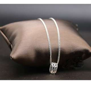 genuine 925 italy silver necklace for women