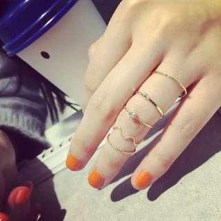 Korean rings