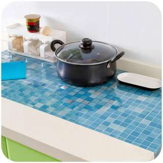 Self-Adhesive Foil Waterproof Anti-oil Wall Stickers For Kitchen, Bathroom