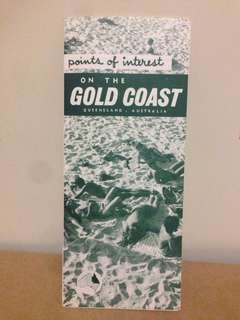 1960's Points of Interest on the Gold Coast