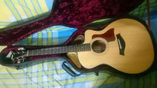 Taylor 214 ce koa complete package