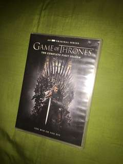 Game of Thrones: The Complete First Season DVD Set