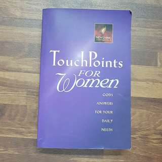 Christian Book - Touch Points For Women
