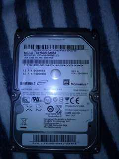 Clearence Samsung Hard disk 1tb