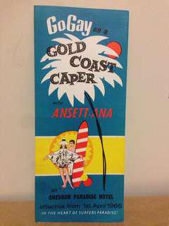 1966 Gold Coast Caper Chevron/Ansett Booking Guide