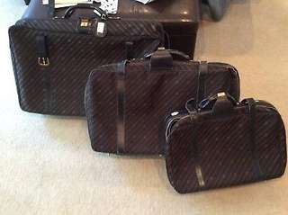 1/10  Vintage GUCCI luggage 3 piece  set* RARE