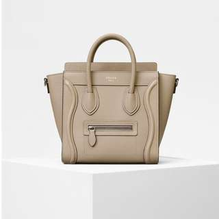 celine nano luggage 現貨