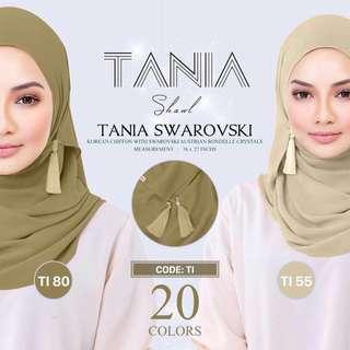 🌸Naelofar Hijab Tania Swarovski🌸