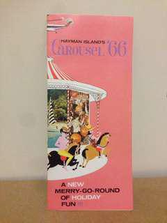 Hayman Islands Carousel '66 Holiday Pamphlet