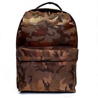 Tas Backpack Premium Army (brown)