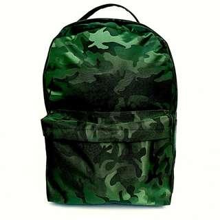 Tas Backpack Premium Army (green)