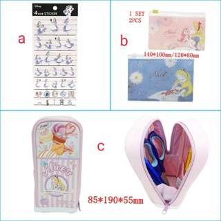 (訂購) Disney 迪士尼 Alice 愛麗絲 items