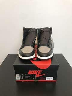 Brand New DS Nike Air Jordan 1 Retro High OG Shadow Size 11