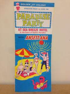 1966 Sea Breeze Hotel Holiday Guide