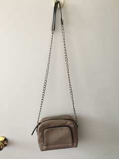 Nude Cross Body Bag - F21