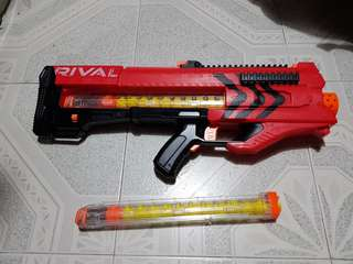 Nerf Rival Zeus + Extra magazine and 12 rounds