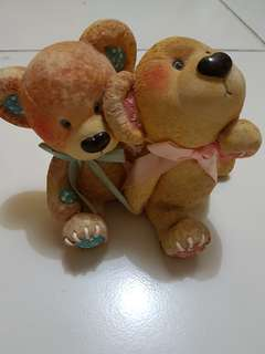 Pajangan The Couple Bear No Nego