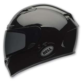 Bell Qualifier DLX SIZE SMALL ONLY Full Face Motorcycle Motorbike Helmet with Transitions Transition Visor Shield Auto Tinting Tinted Visor Solid Gloss Black