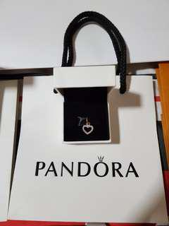 """Pandora """"Heart Pendant"""" (No Chain Necklace included)"""