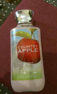 Bath and body lotion Apple