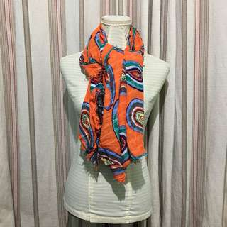 Zara Accessories Paisley Scarf