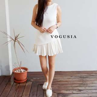 Vogusia Jumpsuit White