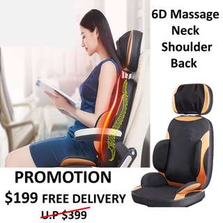 6D Portable Massage Chair