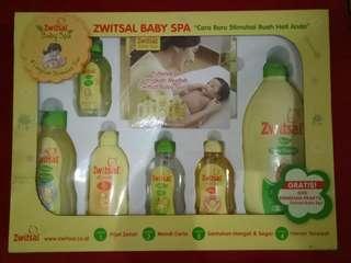 Zwitsal Baby Spa Gift Set