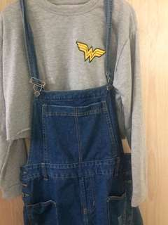 Denim jumper XL
