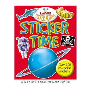 STICKER TIME WITH OVER 250 REUSABLE STICKERS - BRAND NEW