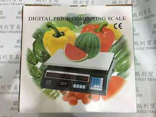 Price and weight machine