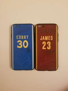 NBA Stephen Curry & LeBron James 手機保護套