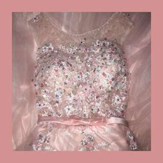 light pink prom gown [negotiable]