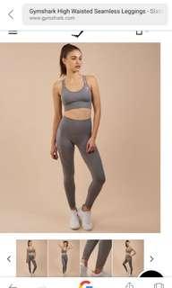 Gymshark slate grey seamless