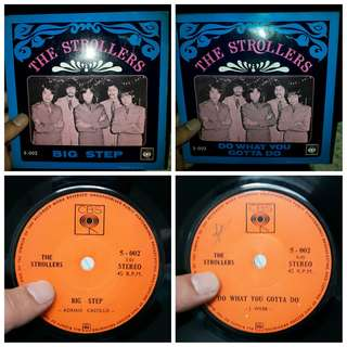The Strollers - Big Step/Do What You Gotta Do EP 7 inch Vinyl