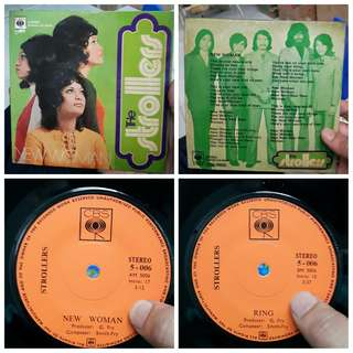 The Strollers - New Woman/Ring EP Vinyl 7 inch