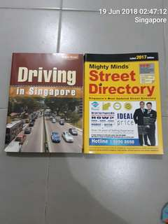 Street Directory & Driving in Singapore $10