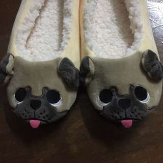 Pug Bedroom Slippers