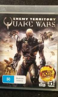 PS3 Quake Wars