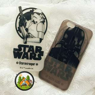 🚚 ⚠ Pre-order! Unique Star Wars Storm Trooper and Darth Vader design phone cover For iPhone 6, 6S, 6 plus, 6S Plus, 7, 7 Plus, 8 & 8 Plus! (Enquire for availability!)