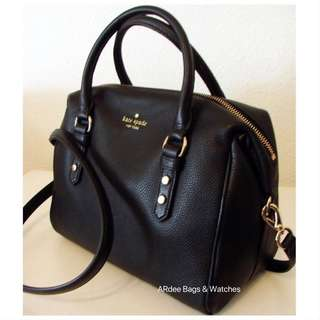 💯 Authentic Kate Spade Jualianne Mulberry Street Black