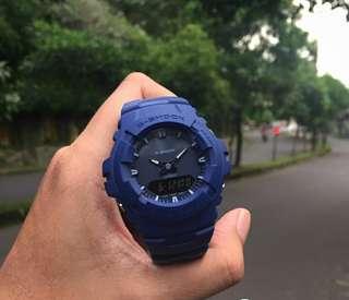 Jam Pria Casio G-Shock G-100CU Blue Ori BM