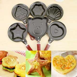 Teflon Mini Frying Pan Karakter