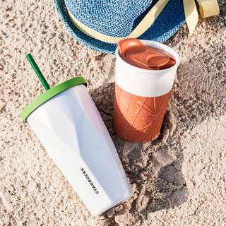 🆕Starbucks® 16oz Stainless Steel Faceted Cold Cup