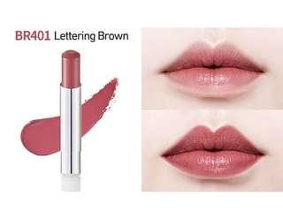 Etude lipstick in BR401