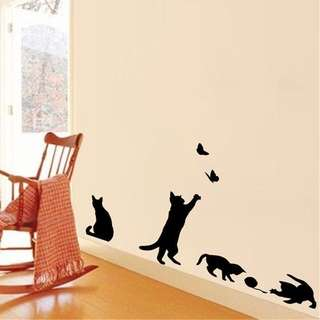 🚚 Cats Wall decal