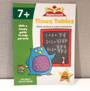 Help With Homework Time Tables 7+